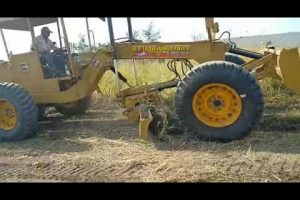 MPI Motor Attach Grader, Model-MG-629 MP